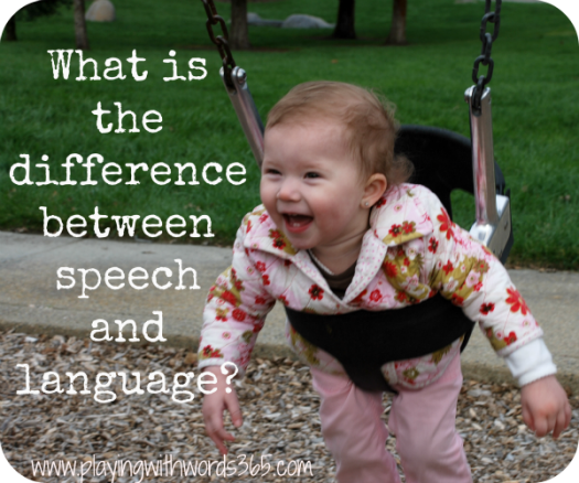 What Is The Difference Between Speech And Language?